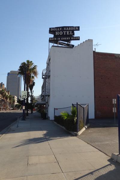 Dolly Varden Hotel & Sign
