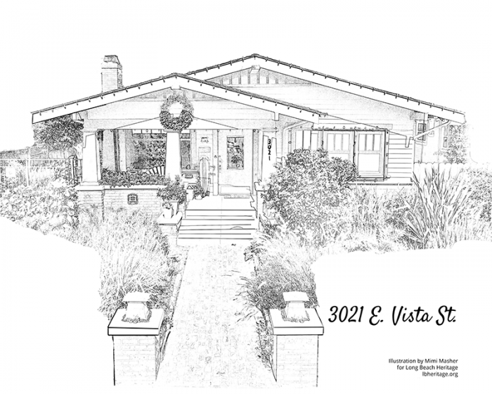 Drawing of 3021 East Vista