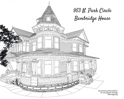 Drawing of the Bembridge House